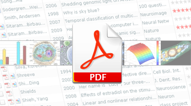 Manage PDF and Papers